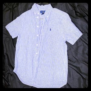 Ralph Lauren Polo short sleeve button up.